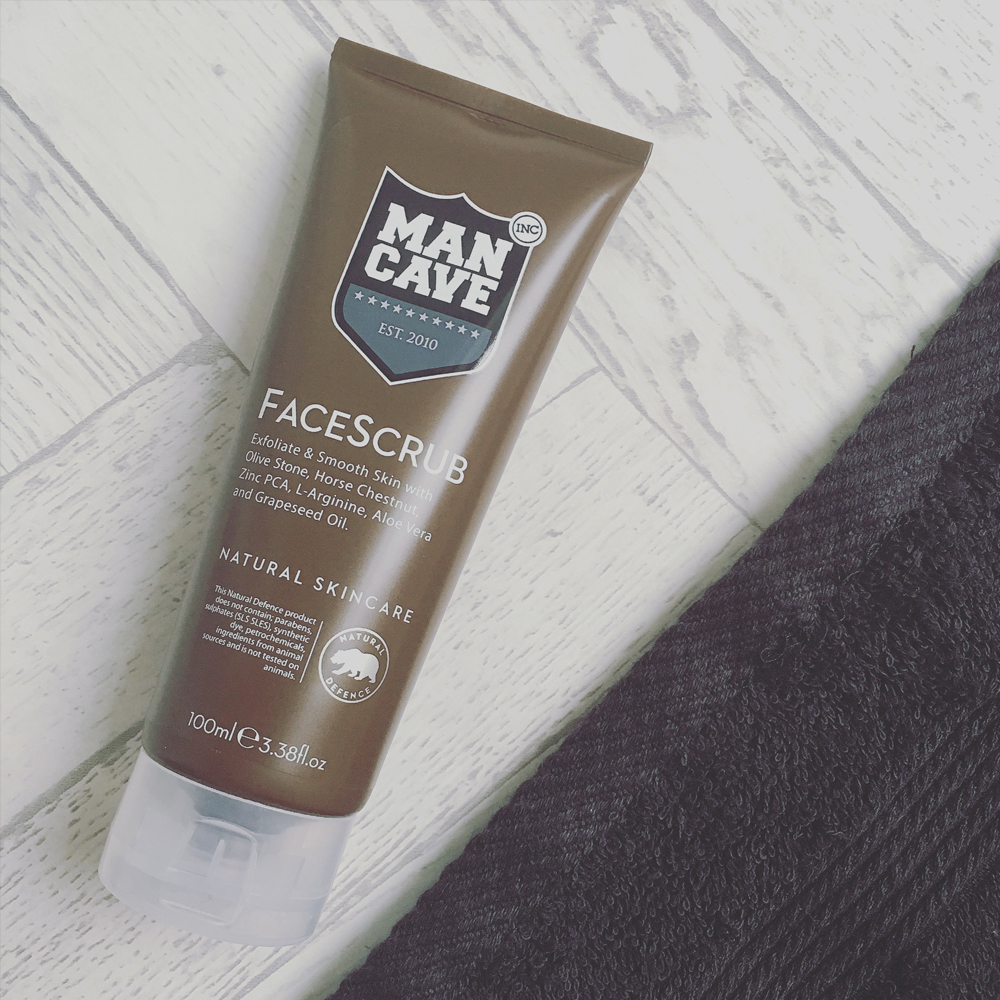 Man Cave Face Scrub : The ultimate grooming gifts from mancave joshwa saint james