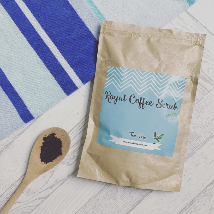 Naturelle Cosmetics Royal Coffee Scrub