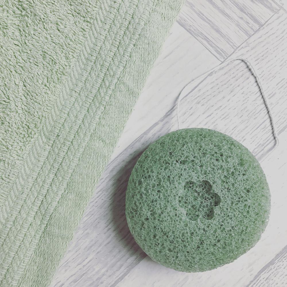 Green Tea Natural Sponge