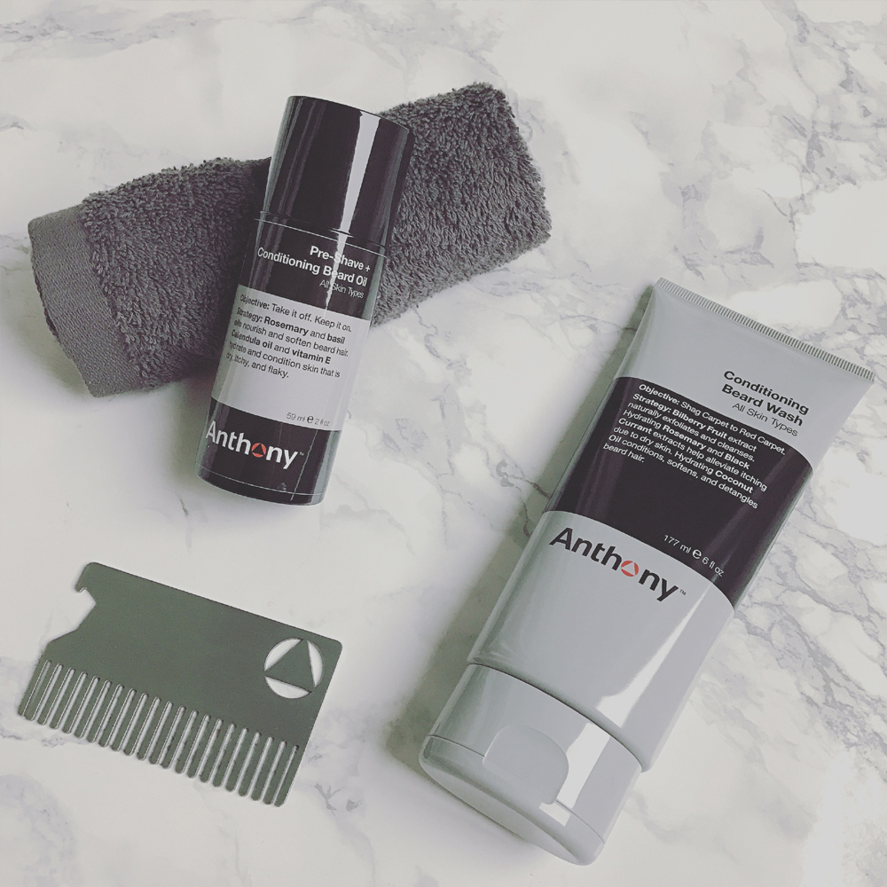 Tend To Your Facial Hair with the Beard Basics Kit by