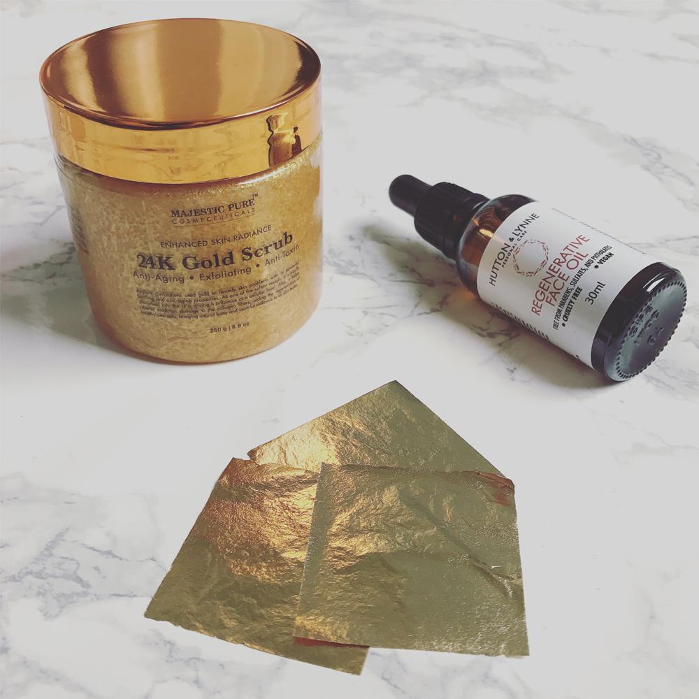 24 K Gold Facial DIY