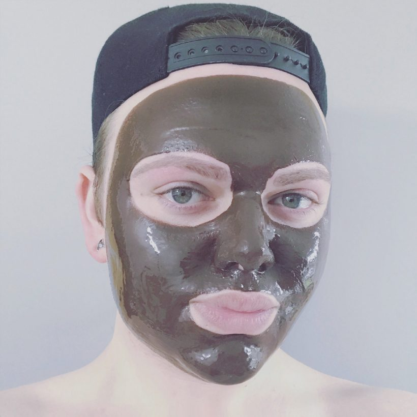 Natural Spa Factory chocolate drench face mask Joshwa Saint James